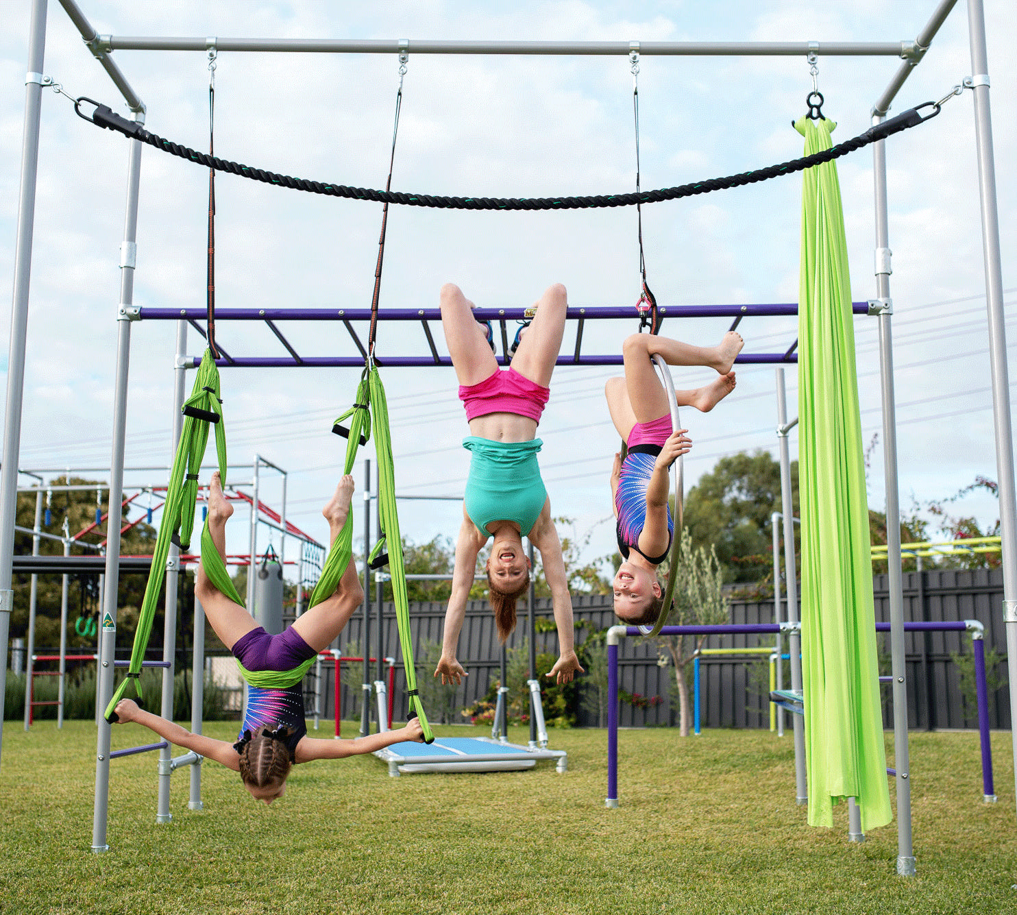 Add On More Fun to Your Funky Monkey Bars