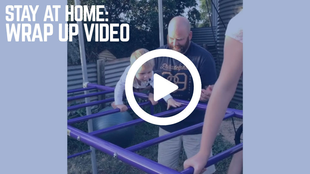 Wrap Up Stay at Home. Play at Home. Video