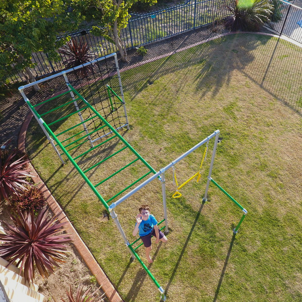 Stand Alone Monkey Bars For Backyard funky monkey bars - award winning backyard monkey bars & swing sets