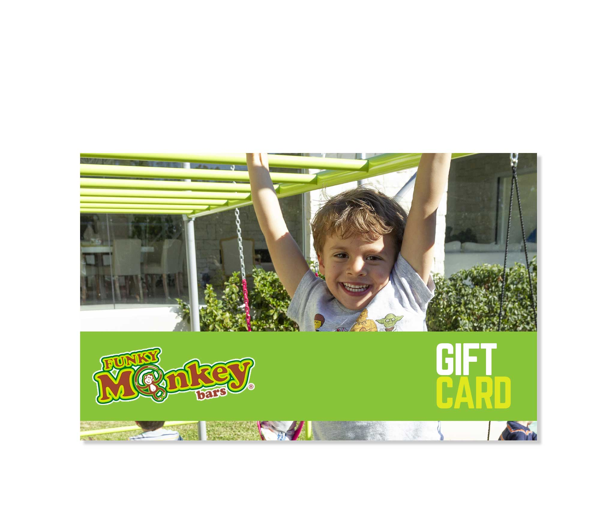Funky Monkey Bars Gift Card