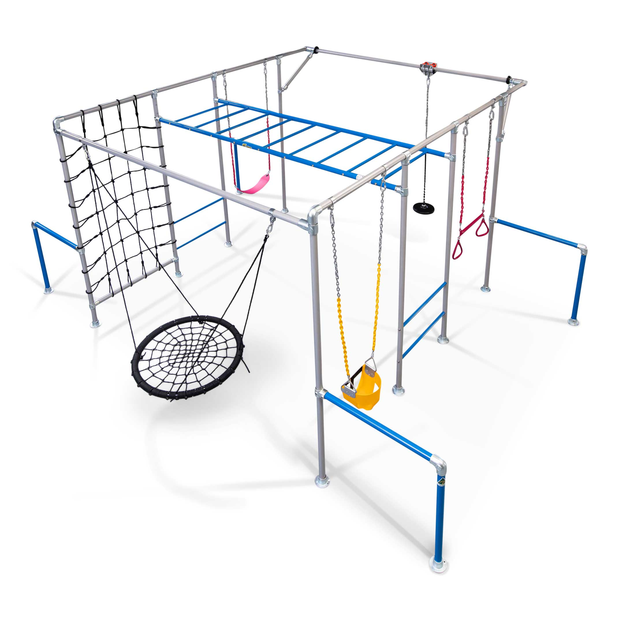 Picture of: The Gorilla Plus Funky Monkey Bars Swing Frames