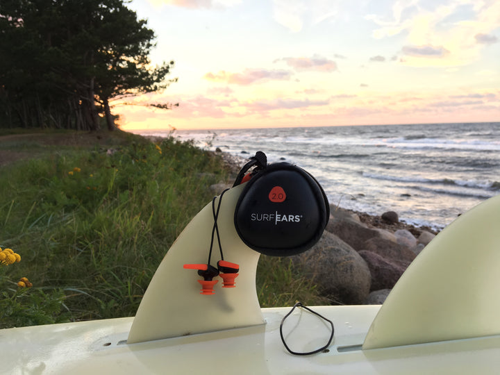 Revolutionary Ear Plugs for Surfers