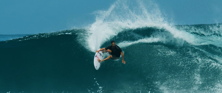 Jay Davies in all his surf-monster glory.