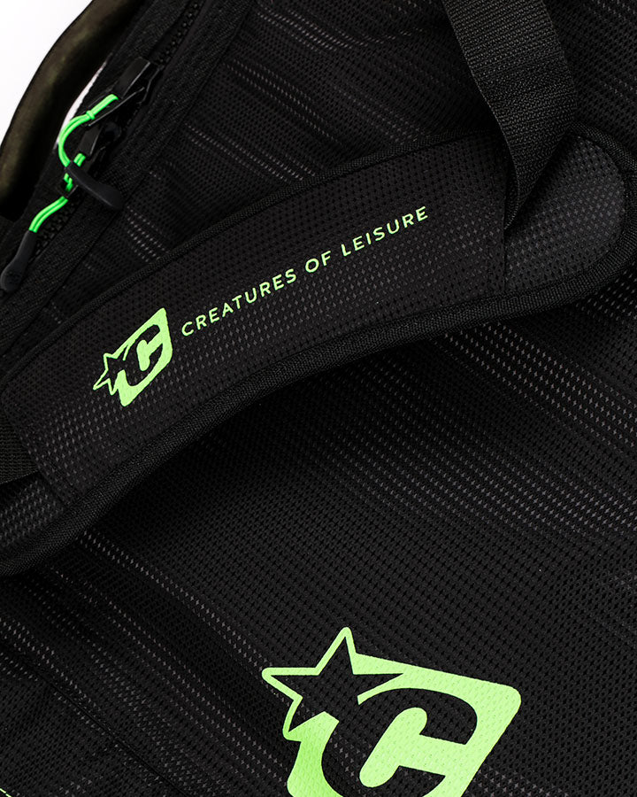 SHORTBOARD DOUBLE : BLACK LIME