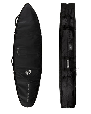 SHORTBOARD QUAD COFFIN DT2.0 : BLACK