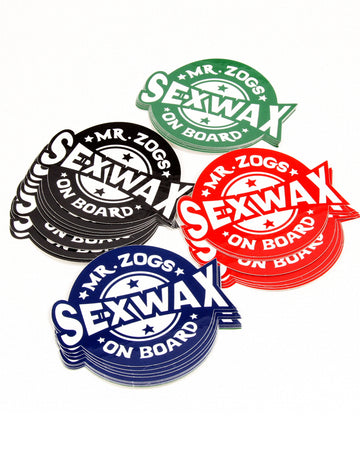 SexWax On Board Sticker