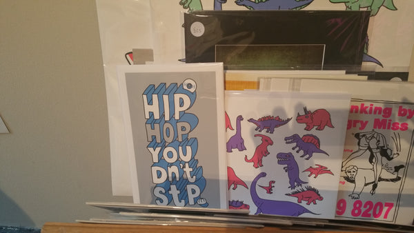 Pick Me Up Hip Hop Don't Stop art