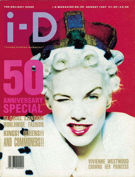 Sara Stockbridge i-D magazine cover