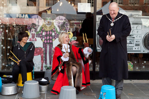 The Mayoress of Havering at launch of The Retailery