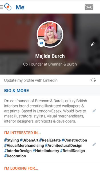 Shapr Profile Majida Burch
