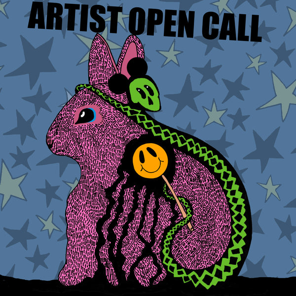 Artist open call bunny