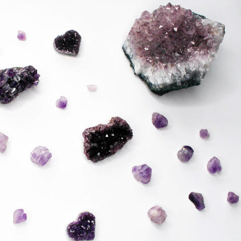 Energy Healing Crystals for Self Care - Amethyst