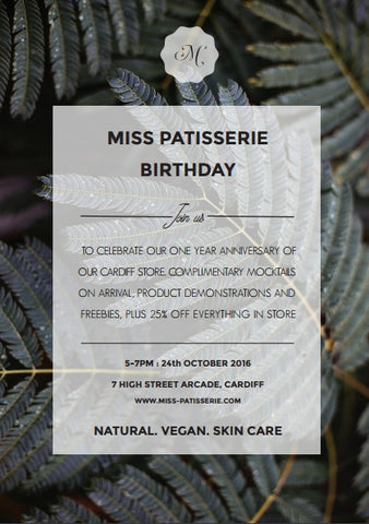 miss patisserie birthday