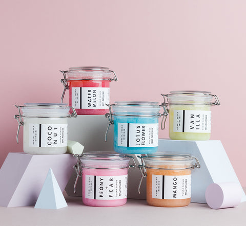 miss patisserie sugar scrubs