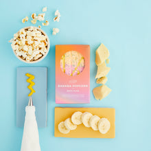 Load image into Gallery viewer, vegan bath slab banana popcorn