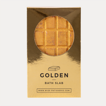 Load image into Gallery viewer, gold bath bomb chocolate bar