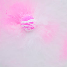 Load image into Gallery viewer, PINK COCONUT BATH BOMB VEGAN SMOOTHIE