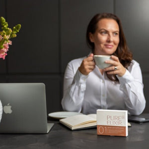 Sunday session celebrating female entrepreneurs - this week it's Amanda founder of Pure Elixir