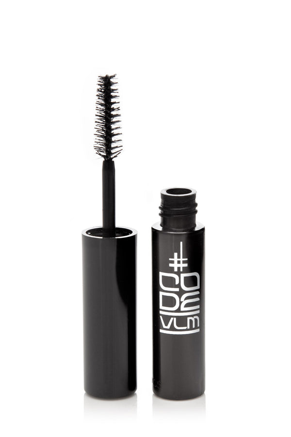 CODE VLM Mini Volumising Lengthening Mascara, perfect top up partner to take you from day to night look