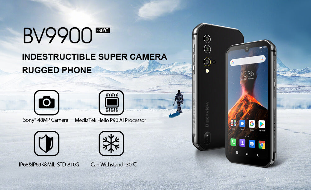 Rugged SA Blackview BV9900 Rugged Smartphone