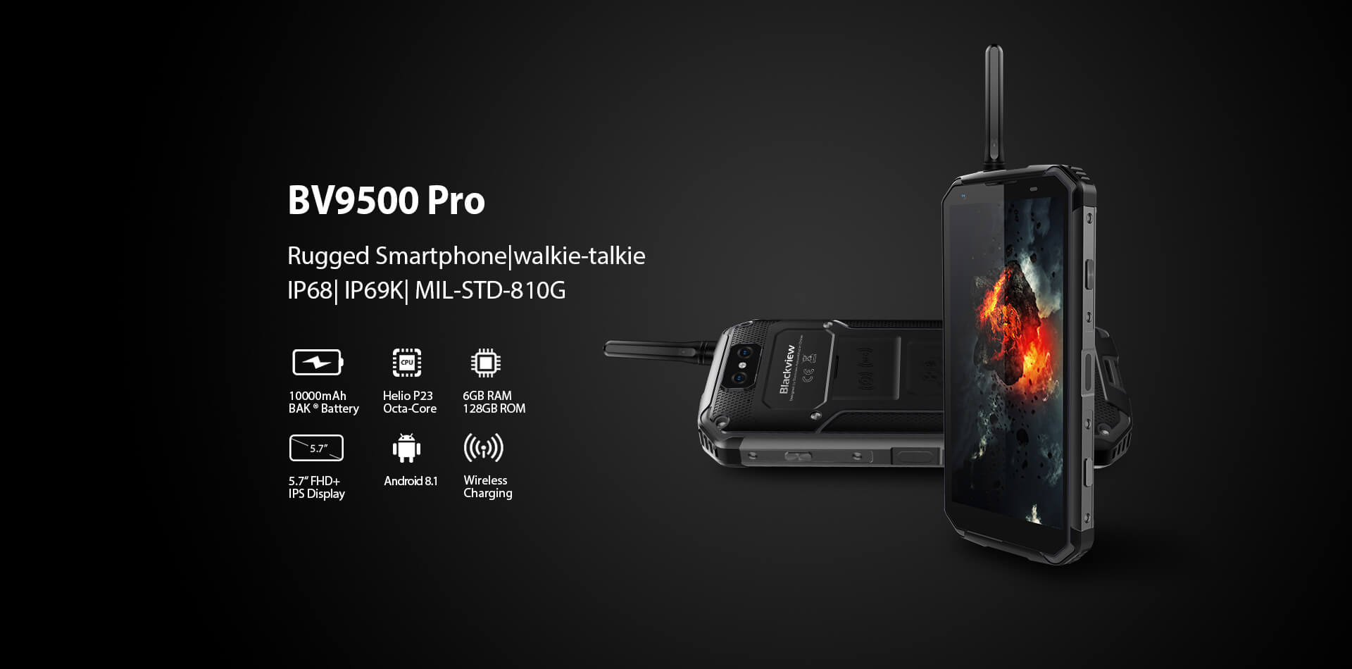 Blackview BV9500 Pro Rugged SA