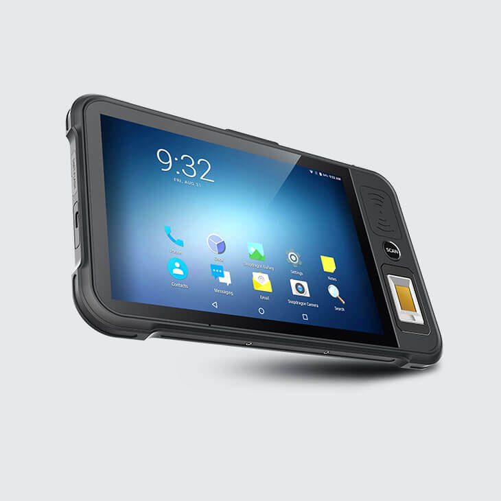 Rugged SA Chainway P80 Rugged Optical Fingerprint Scanning Tablet