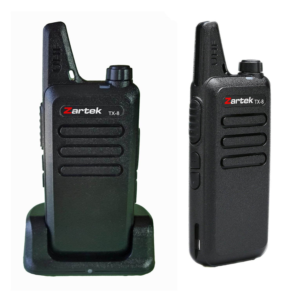 Rugged SA Zartek TX-8 Two-Way Radio Twin Pack