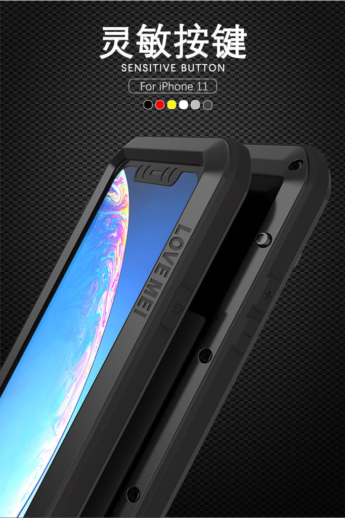 Rugged SA Love Mei Powerful Series Rugged Cover iPhone 11