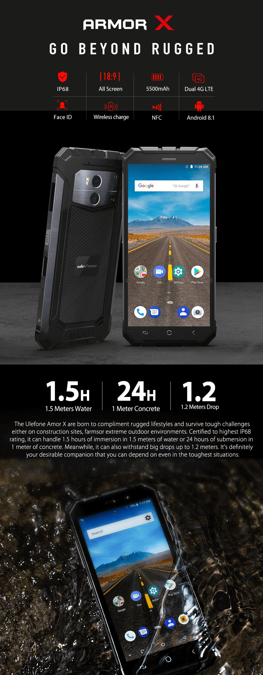 UleFone Armor X Rugged SA