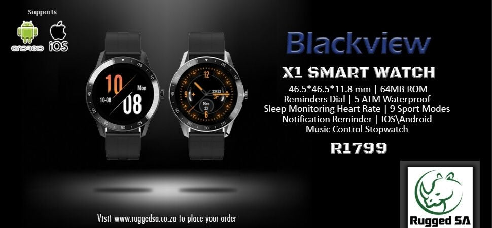 Blackview X1 Smartwatch Rugged SA