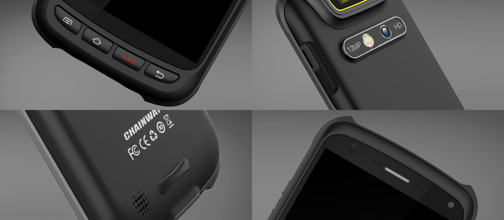 """Rugged SA Chainway C70 5.2"""" Android Rugged 1D/2D Barcode ScanningTerminal"""