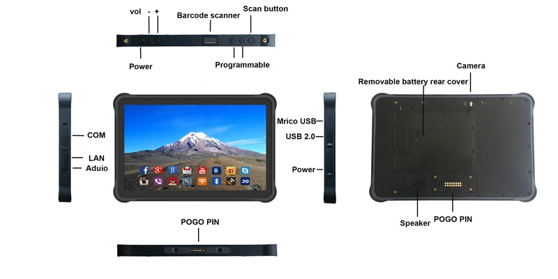 Android Rugged Tablet K15A