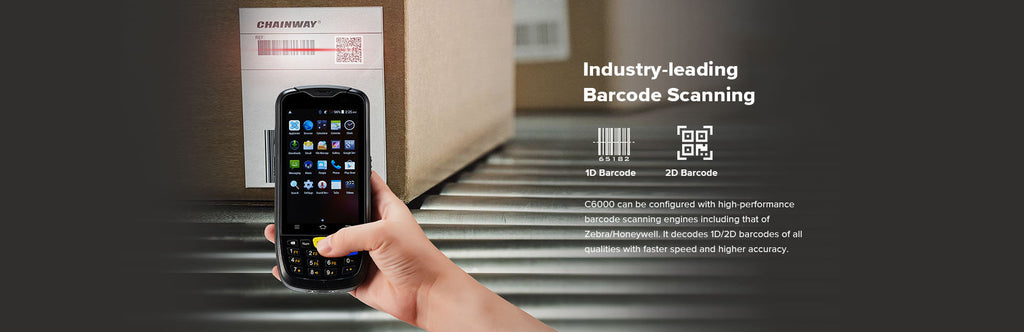 Rugged SA Chainway C6000 Rugged NFC Barcode Scanner