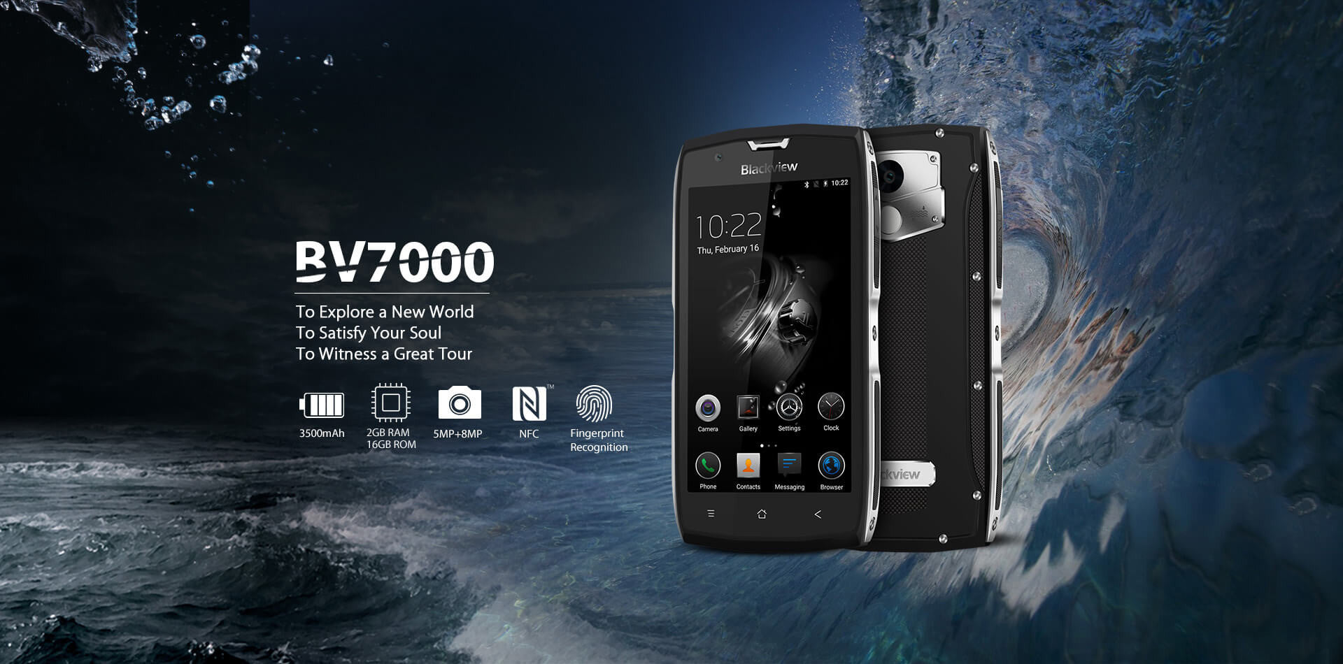 Blackview Rugged SA BV7000