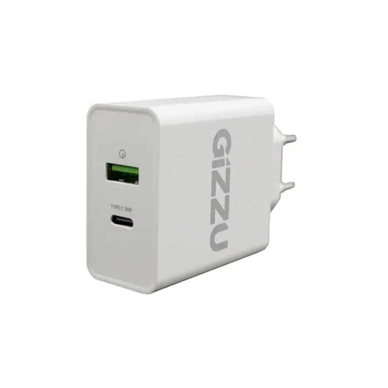 Rugged SA - Gizzu 18W Type-C PD QC3.0 Wall Charger