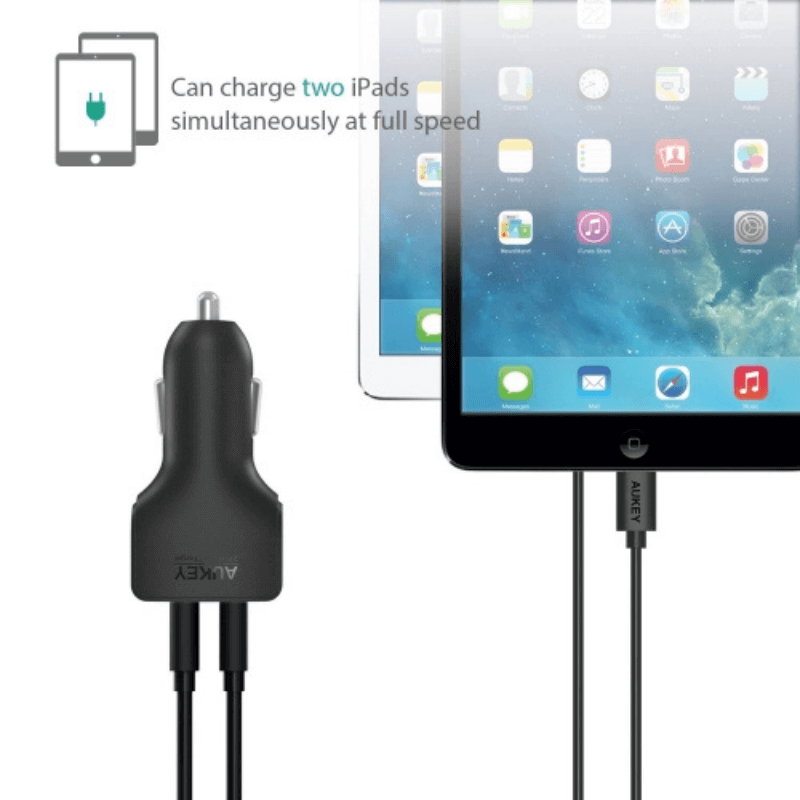 Rugged SA - Dual Port Car Charger with AiPower