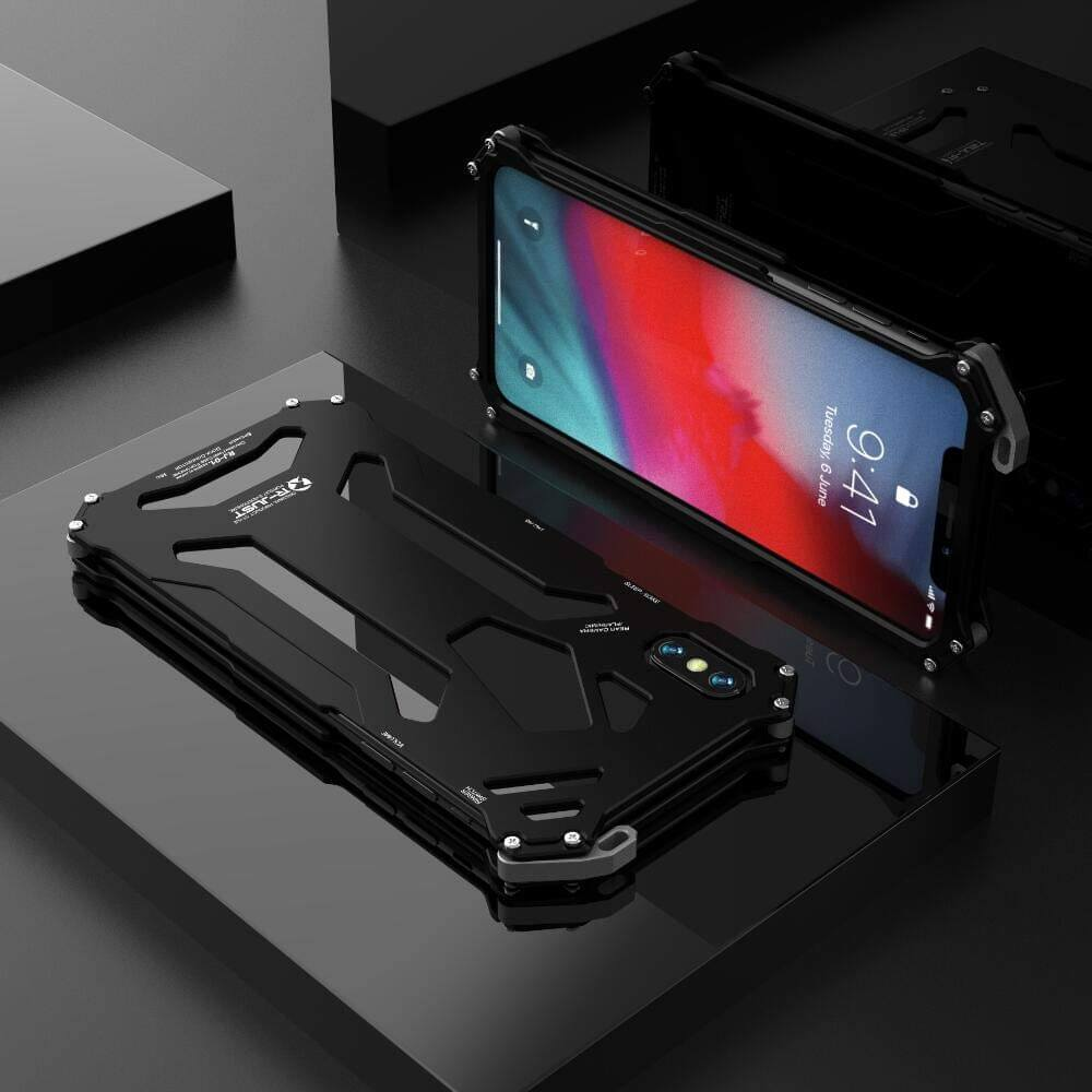 Rugged SA Gundam 360 Armor Case for iPhone XS