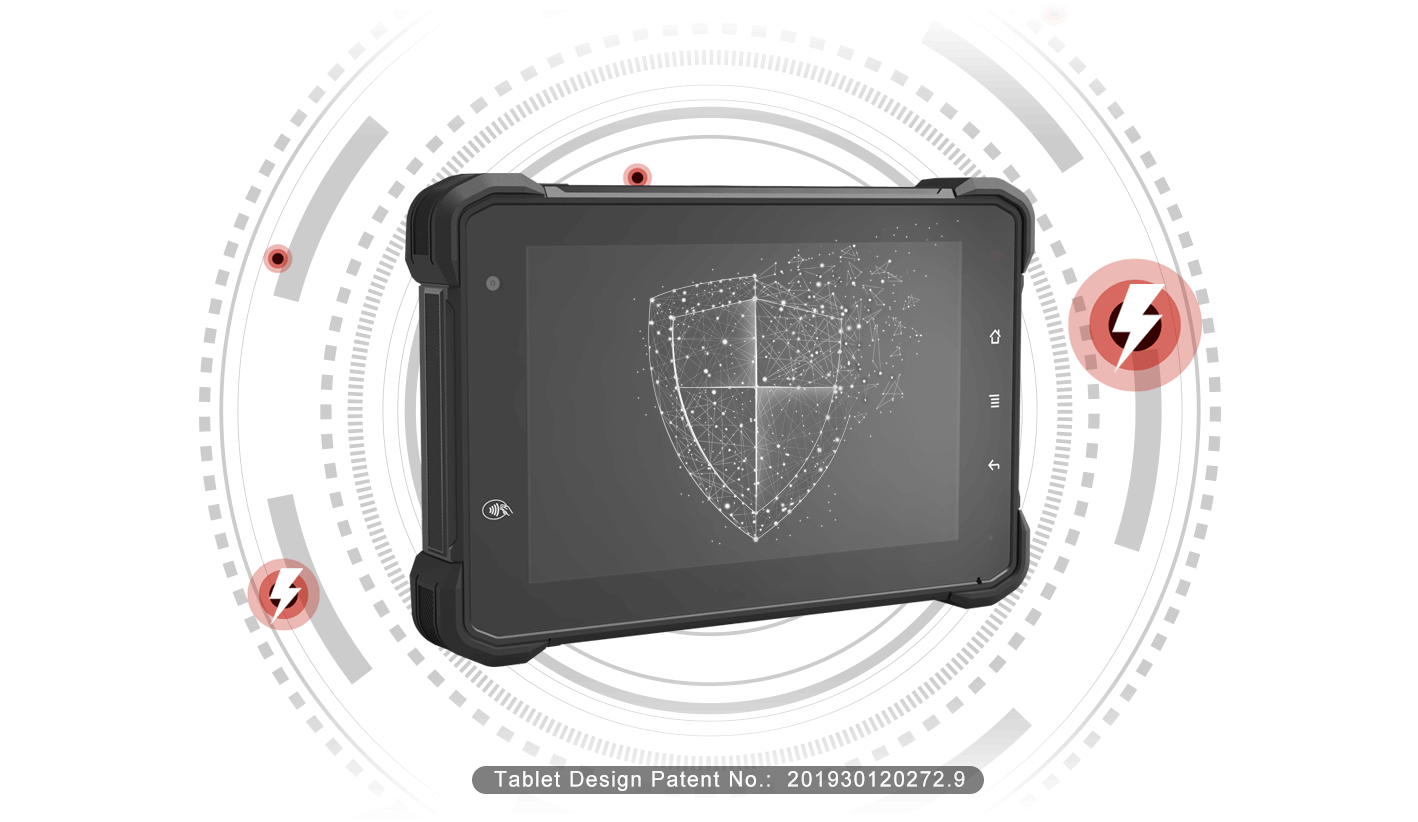 Rugged SA Tablet VT-7 Pro In-Vehicle Tablet