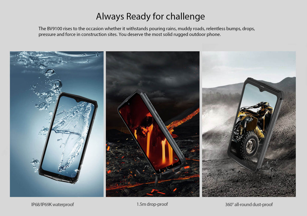 Rugged SA Blackview BV9100 Rugged Smartphone