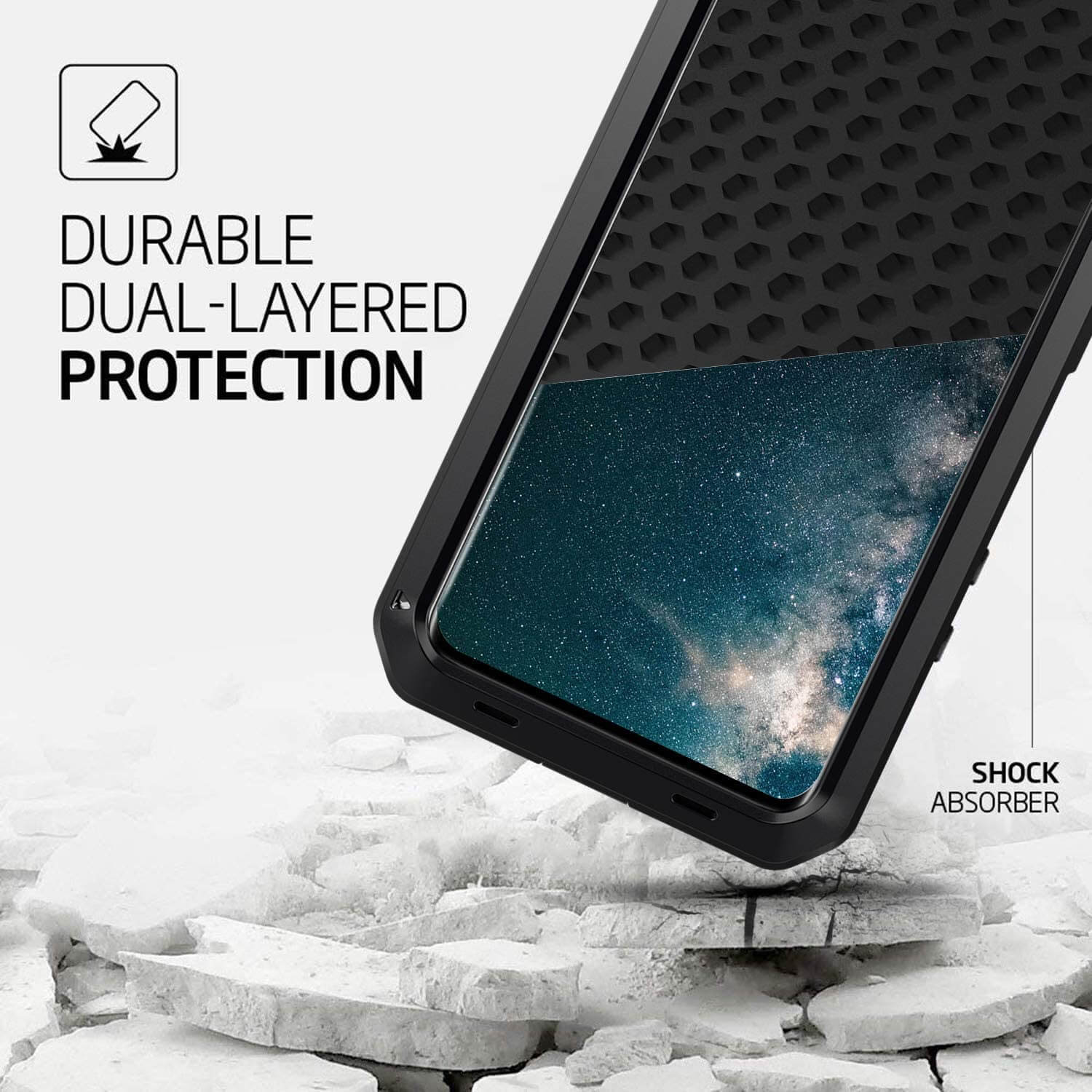 Rugged SA ELITE 360 Tank Armor Case for Samsung S20 Plus