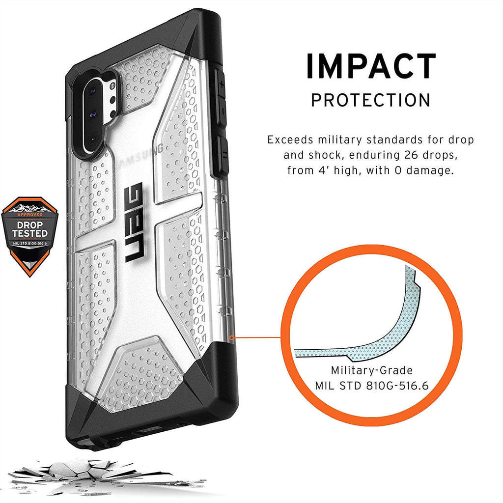 Rugged SA UAG Samsung Galaxy Note 10 Plus Cover - Plasma
