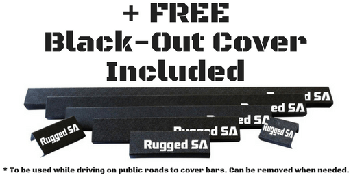 Rugged SA LED Light BLACK-OUT COVER