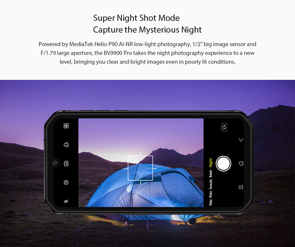 Rugged SA Blackview BV9900 Pro Rugged Smartphone