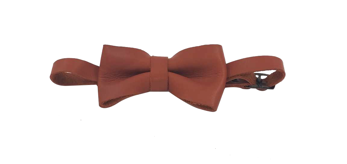 Chester Tabacco Leather Bowtie Rugged SA