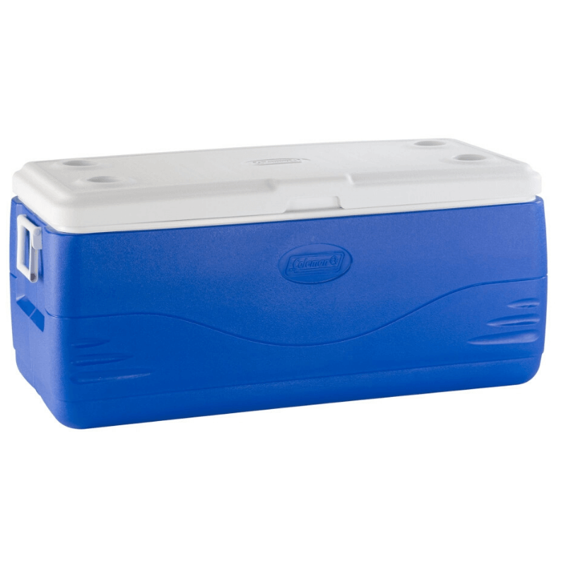 Rugged SA Coleman Blue Cooler 141L Single Lid