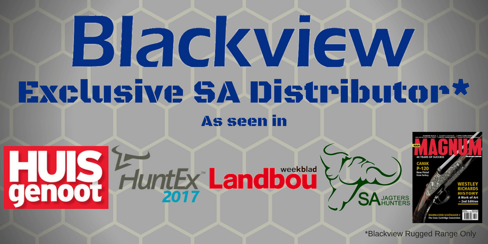 Blackview  Rugged Phones Exclusive Distributor South Africa