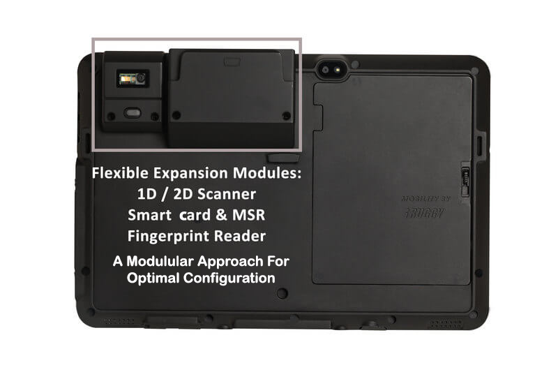 Rugged SA iRuggy G10S Rugged Scanning Tablet