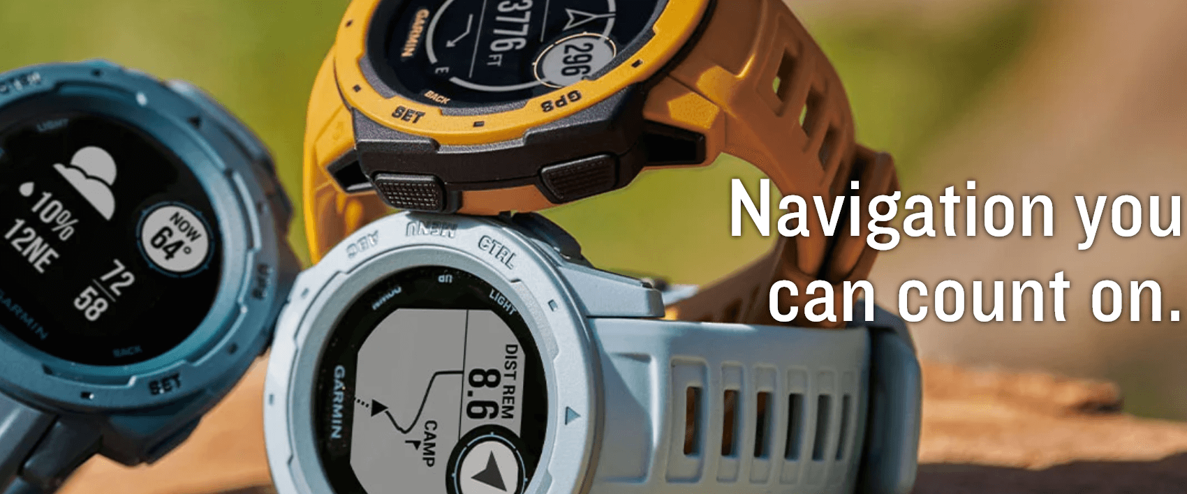 Rugged SA Garmin Instinct Outdoor Smart Watch