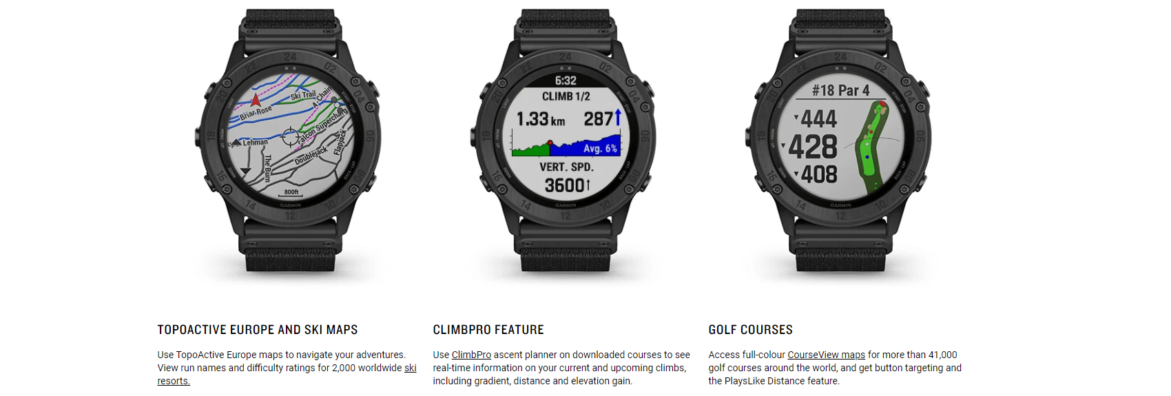 Rugged SA Garmin Tactix® Delta Premium Solar GPS Smart Watch