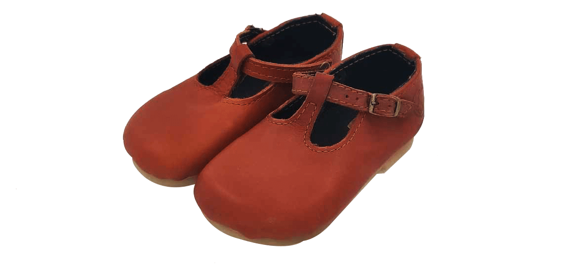 Rugged SA Girls Chester Tabacco Vellies